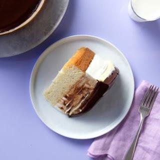 Boston Cream Pie Cheesecake.