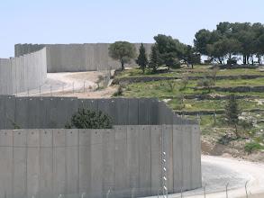 Photo: Jerusalem, Abu Dis, the Wall