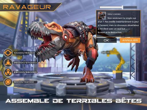 Télécharger Dino War mod apk screenshots 4