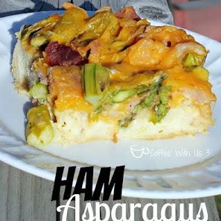 Ham Asparagus Strata
