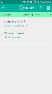 Yoruba Italian Translator - náhled