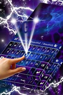 скачать на андроид клавиатуру космос