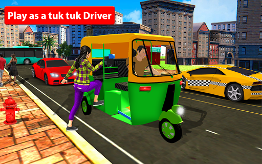 Rickshaw Driving Simulator - Drive New Games screenshots 3