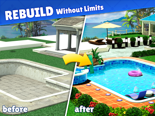 Home Design : Caribbean Life apkpoly screenshots 17