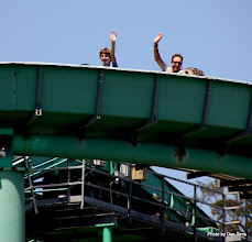 Photo: (Year 3) Day 25 - Rog and Edward on the Log Flume #2