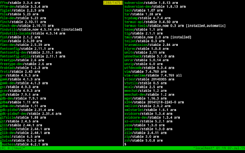 Termux – Miniaturansicht des Screenshots