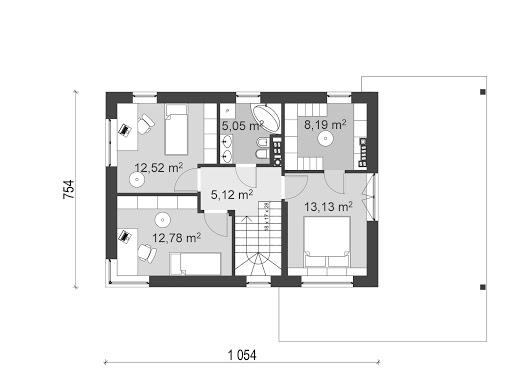 UA2 - Rzut piętra