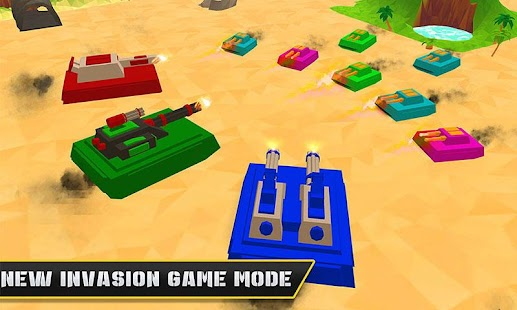 Blocky Tanks Force- screenshot thumbnail