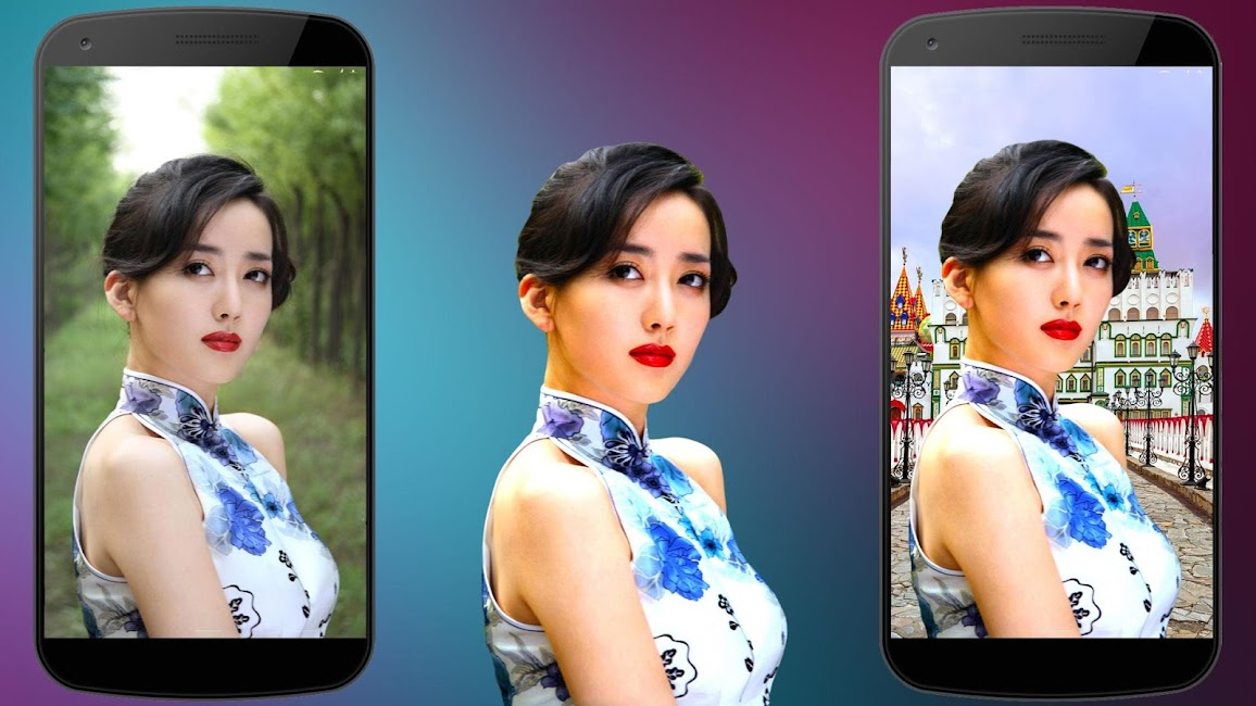 #3. Photo Background Changer (Android)