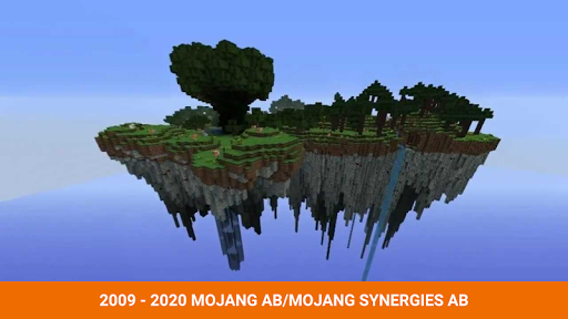 One block survival Minecraft maps. Map for MCPE 3 screenshots 1