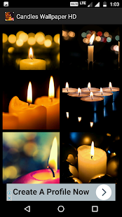 Candles Wallpaper HD - náhled