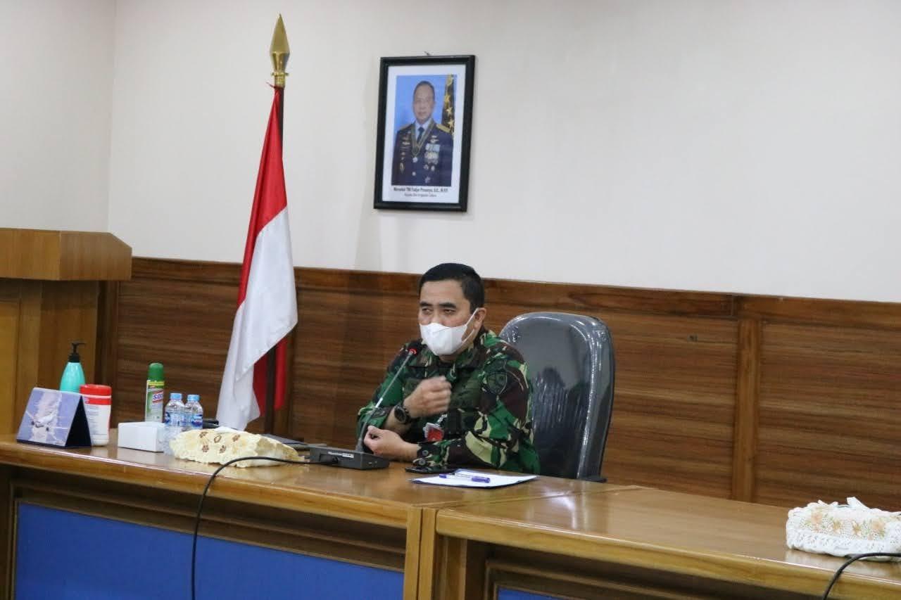 Danlanud Iswahjudi Pimpin Exit Briefing, di Akhir Masa Jabatan