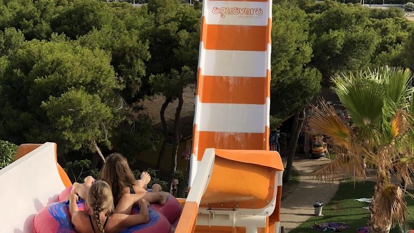 El Tsunami, una de las atracciones estrella del parque.