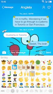 Messaging7 theme for Doraemon1 - náhled