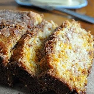 Quick Amish Cinnamon Bread.