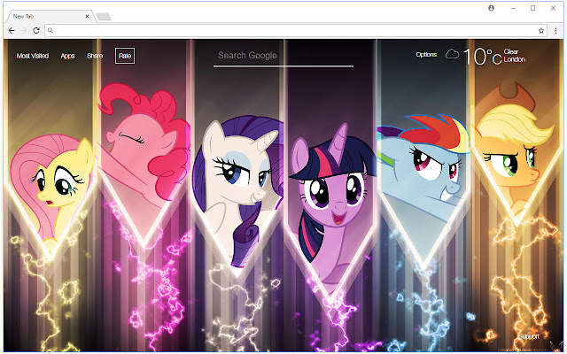 My Little Pony Wallpaper Hd New Tab Themes Hd Wallpapers Backgrounds
