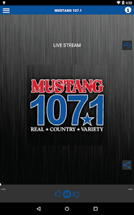 MUSTANG 107.1- screenshot thumbnail