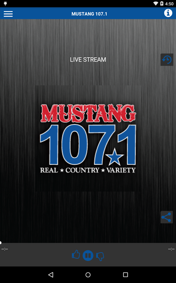 MUSTANG 107.1- screenshot