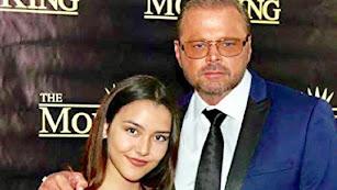 Los actores de 'MobKing' Celine Alva y Ciro Dapagio.
