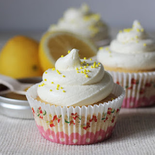 Honey And Lemon Cupcakes
