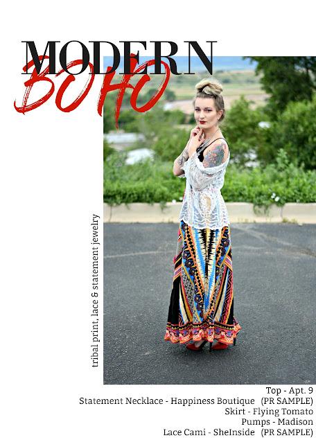 Modern Boho Outfit fashion