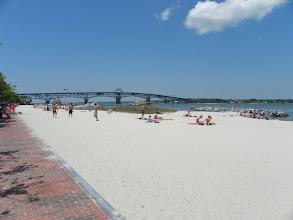 Photo: Yorktown's beach.