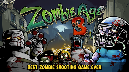 Screenshot 1 Zombie Age 3: Shooting Walking Zombie: Dead City 1.3.0 APK MOD