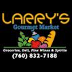 Logo for Larry's Gourmet Market & DELI
