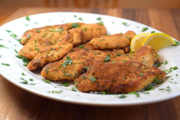 Italian Style Breaded Chicken Cutlets Recipe