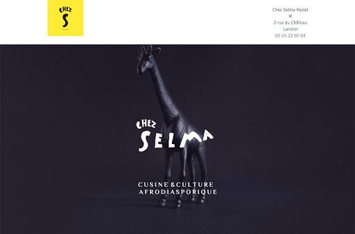 création de site internet réalisée par chez selma
