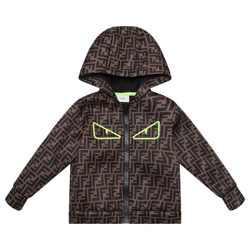 Primary image of Fendi FF Hooded Top