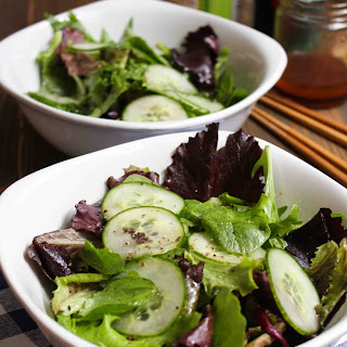 Awesome Cucumber Salad with Sesame Dressing