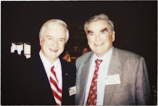 Photo: Terry Sanford and Jim Gallagher