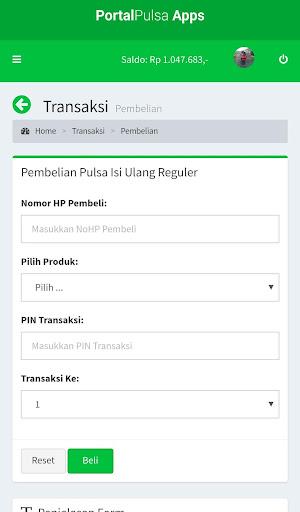 Portal Pulsa - Distributor Pulsa Termurah  screenshots 3