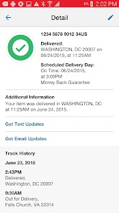 USPS MOBILE®- screenshot thumbnail