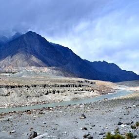 Gilgit - Pakistan by Assam Khan - Landscapes Mountains & Hills ( clouds, pakistan, mountain, gilgit, landscape )