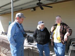 Photo: James Hitzfelder, Mary Lou Pasley, and Carolyn Balkum.   HALS 2009-0228
