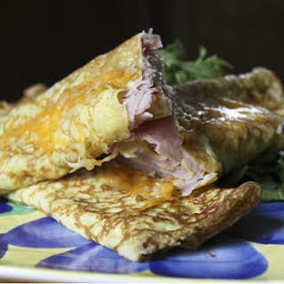 Ham and Cheese Stuffed Crepes | How to Make Crepes.