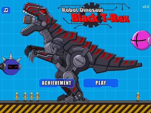 Robot Dinosaur Black T-Rex 2.5 screenshots 9