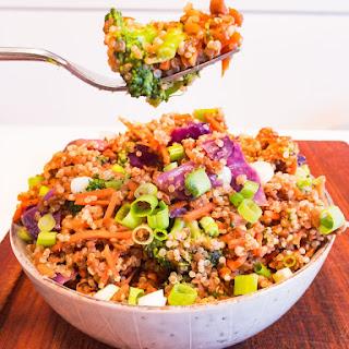 Vegan Beef Quinoa Bowl Recipe