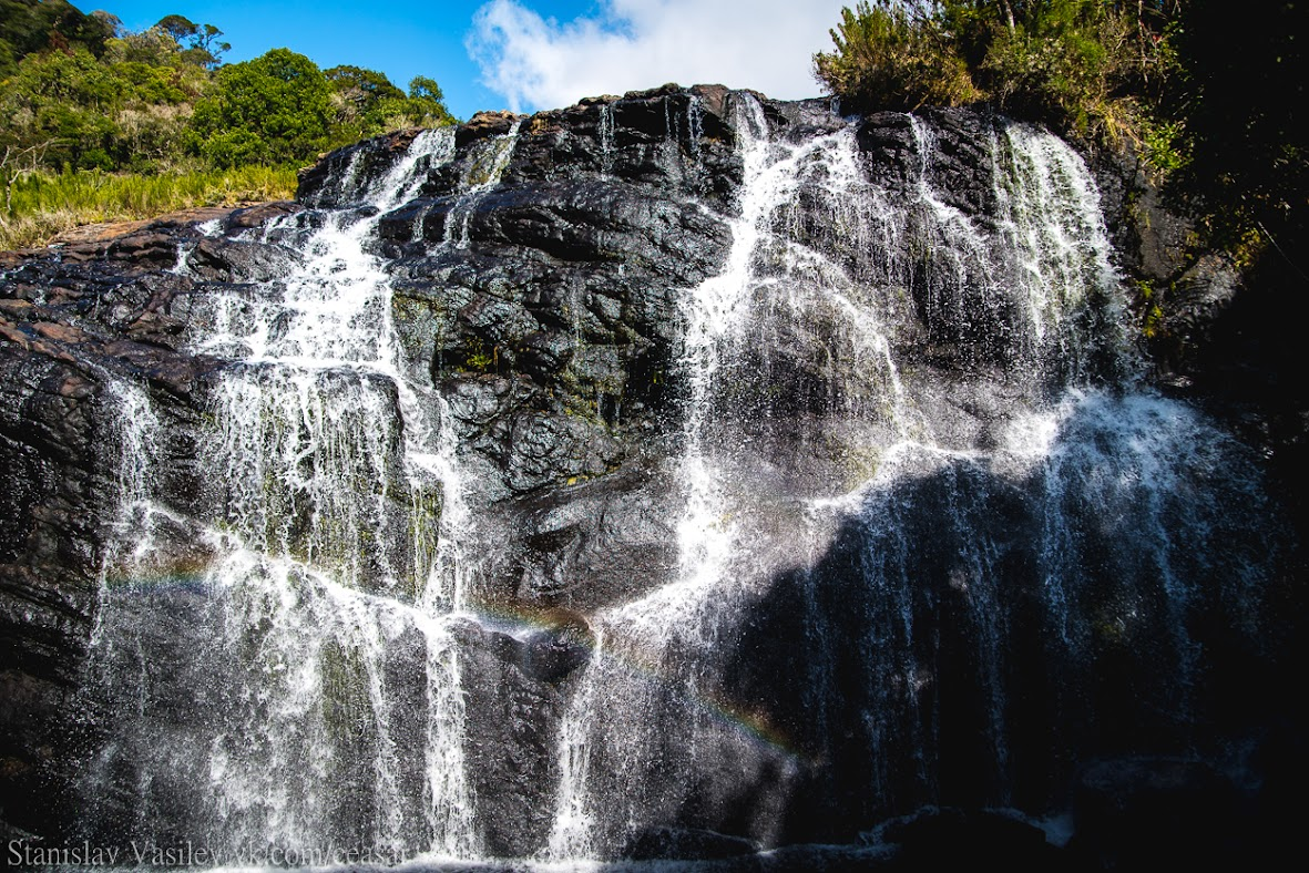 Парк Хортон-Плейнс, водопад Бэйкер фолл