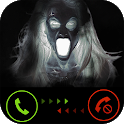 Incoming call from ghost (prank) icon
