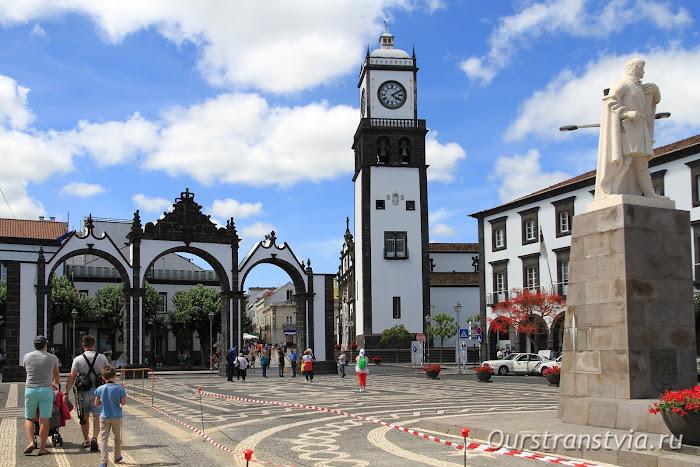 Городские ворота Понта Делгада, Сан Мигель