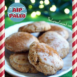 Maple Glazed Snickerdoodles (Paleo, AIP)