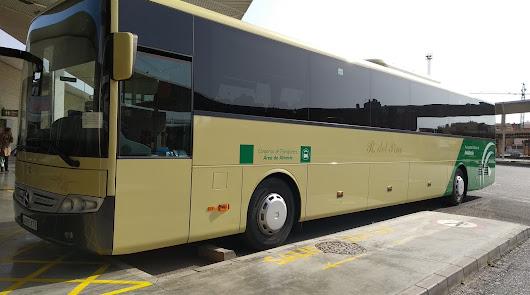 Los autobuses del consorcio retoman los servicios a la UAL