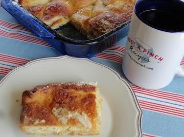 Easy Crescent Dough Lemon Bars Recipe