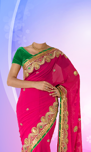 Download Women Saree Photo Suit For PC Windows and Mac apk screenshot 3