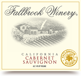 Logo for Fallbrook Winery Cabernet Sauvignon Reserve