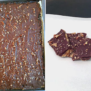 The Easiest, Most Delicious Salted-Chocolate Toffee You'll Ever Make