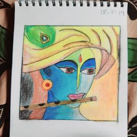 Krishna by Priya Jagan - Digital Art People ( devotion, krishna, kanna, tradition, god )